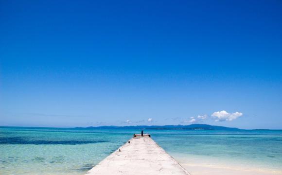 日帰りで行ける離島「竹富島」